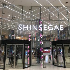 年越し釜山ひとり旅 新世界百貨店
