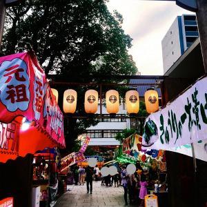 難波神社の氷室祭☆
