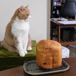 パンが焼けましたー。
