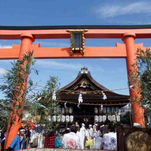 京女、パワー全開! 瀧尾神社