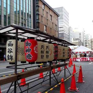 祇園祭 鉾を見る 函谷鉾、鶏鉾、月鉾