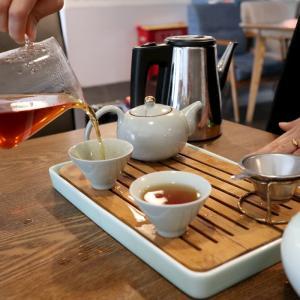 【2019年10月北京旅行記14】北京首都空港のレストランで優雅に中国茶を飲みながらチェックイン待ち