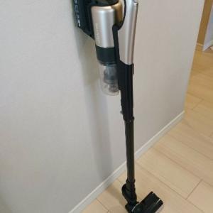 【スティック型掃除機レポ】掃除機って吸引力がないとダメ?主婦に大事なのは「掃除したくなるデザイン」だと思う。