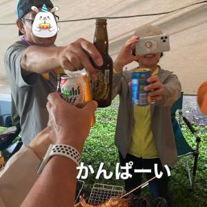 9月のお出かけ〜わん'ズとおじさんとおばさんのパワフルキャンプ