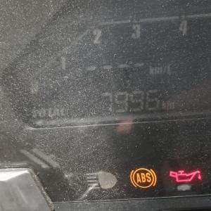 6ヶ月点検(7,996km)