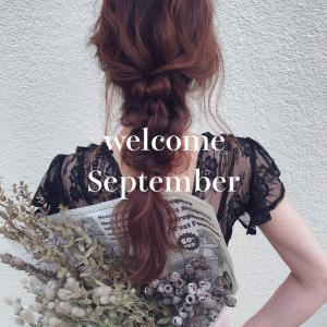 Thanks August!  Welcome September!!
