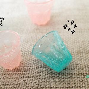 ソーダみたいなグラスたち ミニチュア