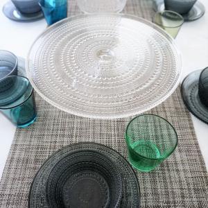 初夏に使いたくなるガラスの北欧食器と届いたモノ