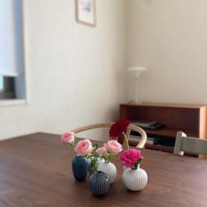 【ケーラーハンマースホイ】ミニブーケが便利、届いたモノと購入したモノ