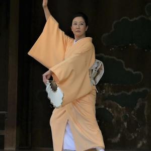 靖国神社の奉納舞踊に出演しました!