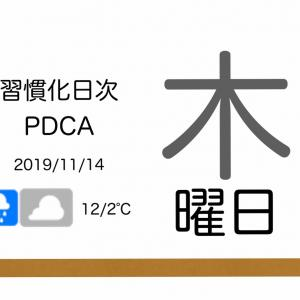 「期待」に応えることに意義は感じるが、「勝手な期待値」には応えない[習慣化日次PDCA 2019/11/14]