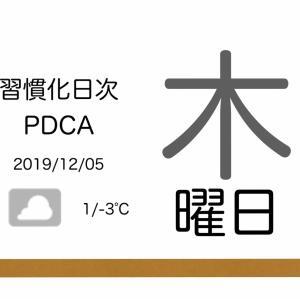 「問題」から「施策(思いつき)」に飛躍する呪縛[習慣化日次PDCA 2019/12/05]