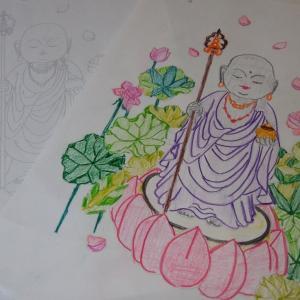 [岩屋寺日記 ] 地蔵菩薩様