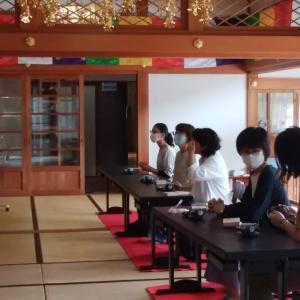【岩屋寺日記】 お念珠作り講座