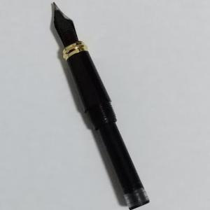 万年筆 インクがよく出なかったので、プチ洗浄