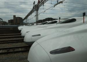 [沿線旅振り返り] 新幹線(博多南駅車両基地)