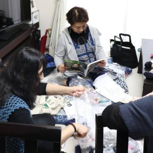 改めて石巻市編み物教室開催致しました