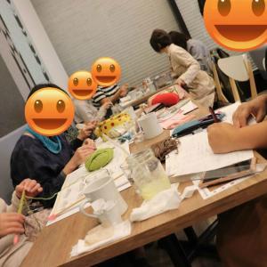 【武蔵浦和】10月ニットカフェ&靴下の会開催致しました