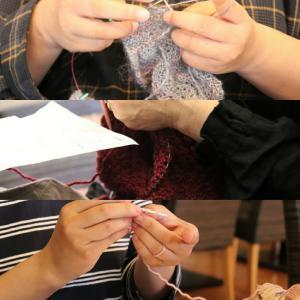 【鶯谷&入谷】11月1回目ニットカフェ&靴下の会開催致しました