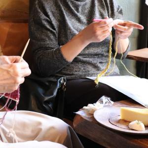 【茗荷谷】11月ニットカフェ&靴下の会開催致しました