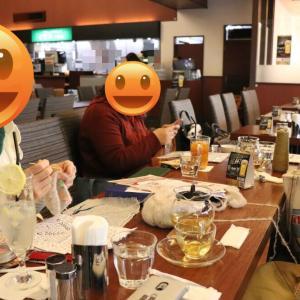【鶯谷&入谷】12月1回目ニットカフェ&靴下の会開催致しました