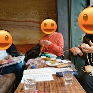 【茗荷谷】12月ニットカフェ&靴下の会開催致しました