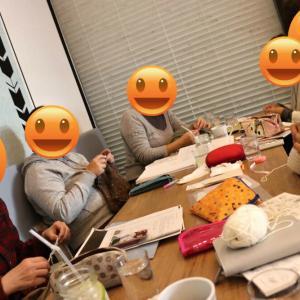 【武蔵浦和】12月ニットカフェ&靴下の会開催致しました