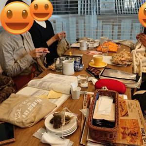 【武蔵浦和】1月ニットカフェ&靴下の会開催致しました