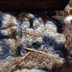 ZOOM編み会開催しました