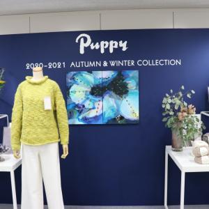 パピー毛糸さんの展示会に行ってきました