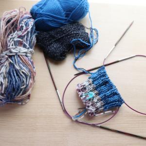 これを編みながらやります!!