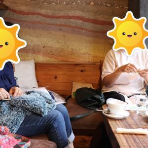 【茗荷谷】10月ニットカフェ&靴下の会開催致しました