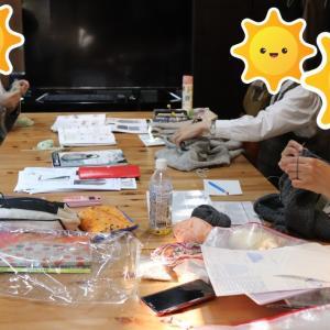 【武蔵浦和会場代替え戸田公園会場】編み会を開催しました