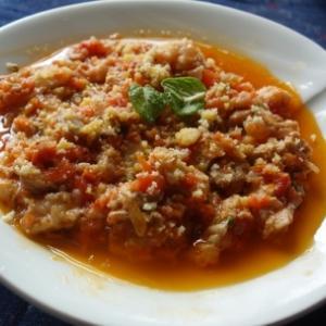 ローマ風トリッパのトマト煮込み/トリッパ・アッラ・ロマーナ(Trippa alla romana)