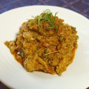 セーラム風羊肉のスパイシーな炒め煮/セーラム・マトン・フライ(Salem Mutton Fry)