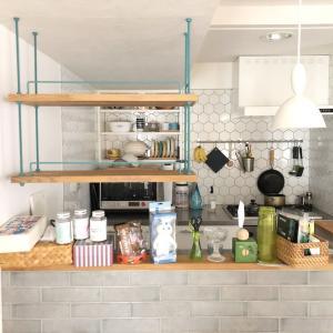 キッチンの吊棚