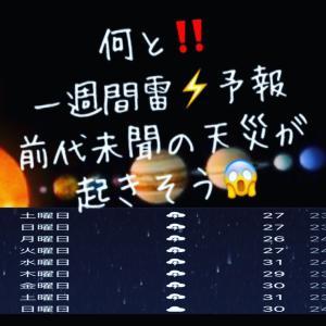 7/4からの惑星の直列で宇宙の波動が乱れ天災注意