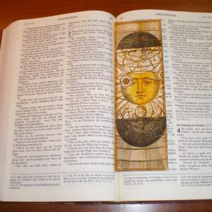 ドイツ語聖書の『箴言』を読もうと思いましたが・・・