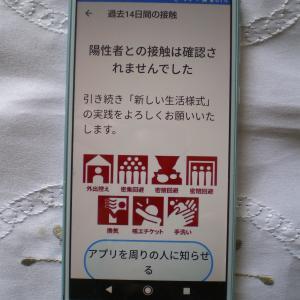 新型コロナ陽性者との「接触確認アプリ」が厚労省からリリースされました