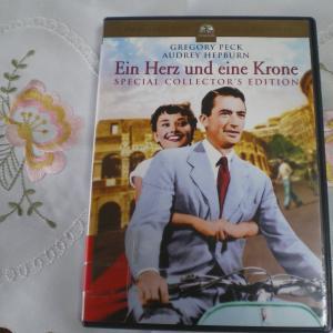 名作映画『ローマの休日』のドイツ語吹き替え版を見ました