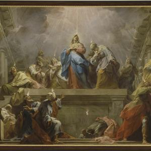 今日は聖霊降臨(ペンテコステ)の祝日