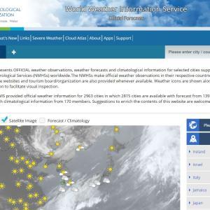 国連の国際気象情報サービス