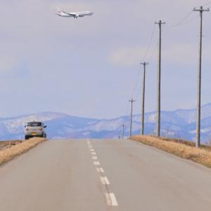 この先の光景は・・・ ~旭川空港~