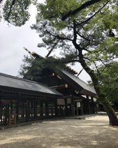 新緑そよぐ6月の熱田神宮