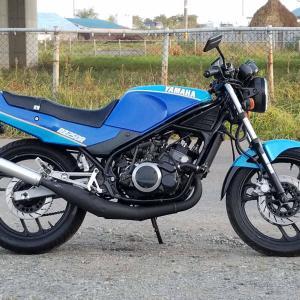 衝動買いで バイクを買ってしまった。