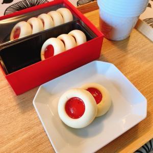 北欧テキスタイルのパッケージがステキ。fikaのクッキー。