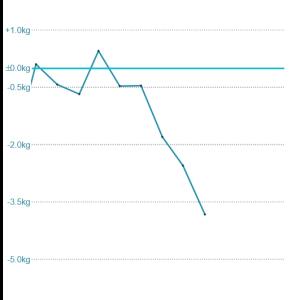 年初のダイエット宣言の進捗状況!5kgダウンはいかに?!