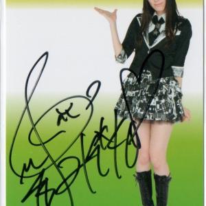 祝!TEPPEN ピアノ 優勝【松井咲子/元AKB48】直筆サインカード