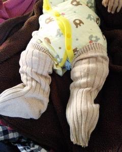 赤ちゃん用にリメイクしてみました