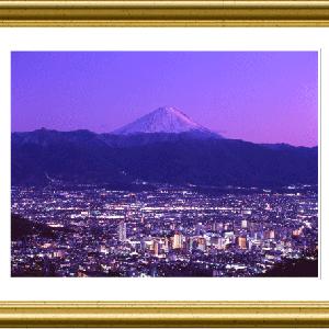 富士山に見守られ…